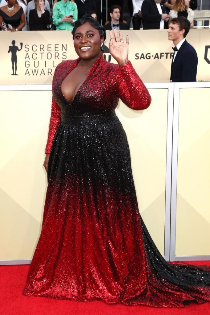 Danielle Brooks red carpet SAG Awards 4Chion Lifestyle