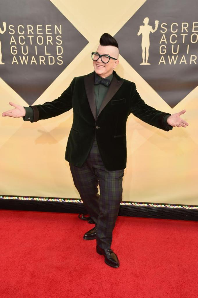 Lea DeLaria red carpet SAG Awards