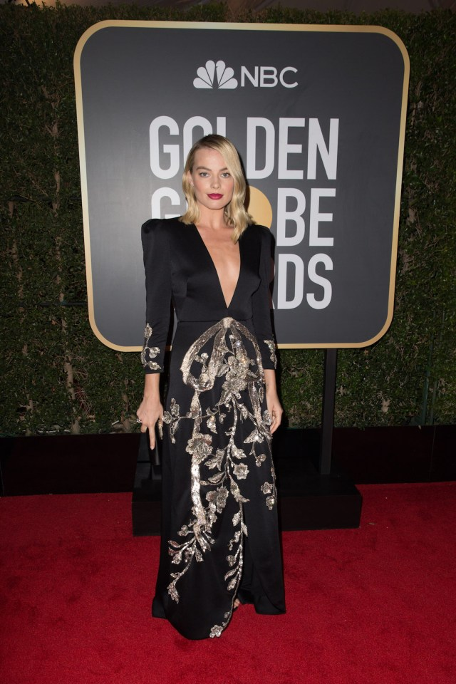 Margot Robbie attends the 75th Annual Golden Globes Awards 4chion lifestyle