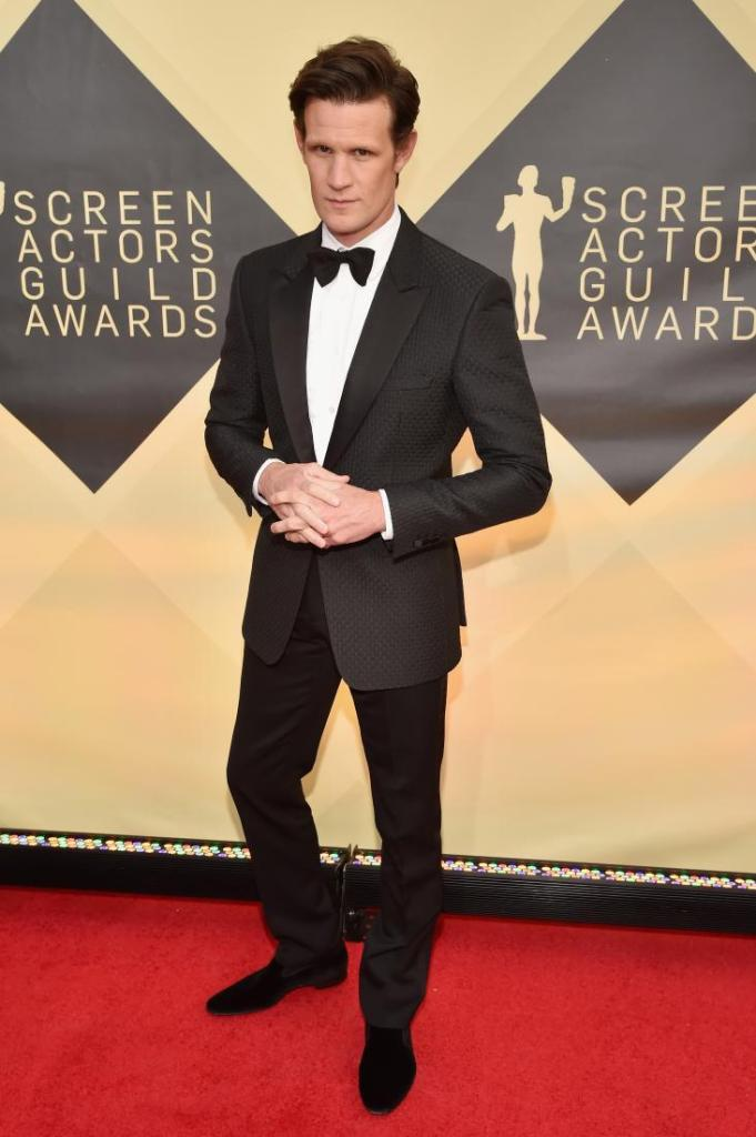 Matt Smith red carpet SAG Awards 4Chion Lifestyle