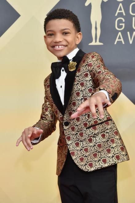 Lonnie Chavis red carpet SAG Awards 4Chion Lifestyle