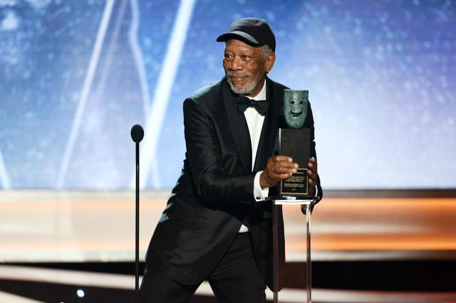 Morgan Freeman Lifetime Achievement recipient SAG Awards 4Chion Lifestyle a