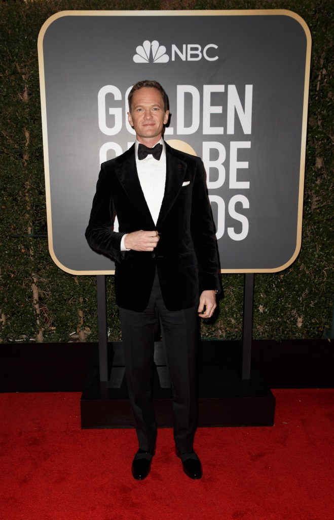 Neil Patrick Harris attends the 75th Annual Golden Globes Awards 4chion lifestyle