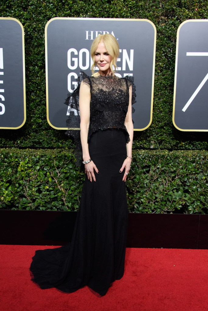 Nicole Kidman arrives at the 75th Annual Golden Globe Awards 4chion lifestyle