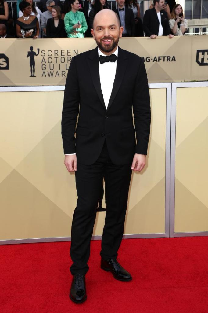 Paul Scheer red carpet SAG Awards 4Chion Lifestyle