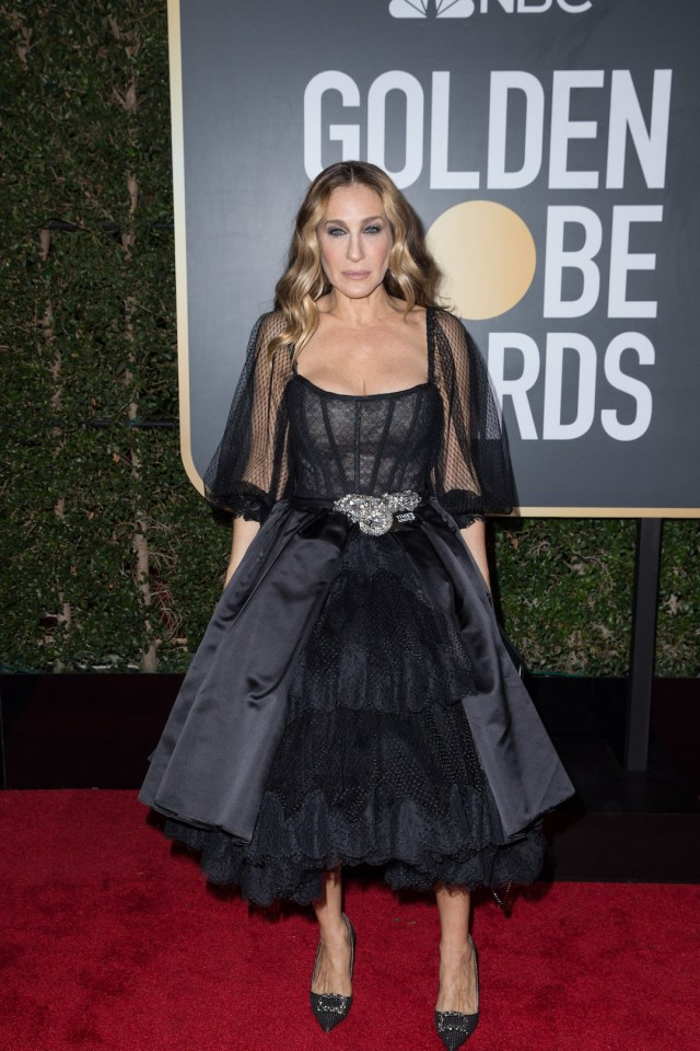 Sarah Jessica Parker attends the 75th Annual Golden Globes Awards 4chio lifestyle
