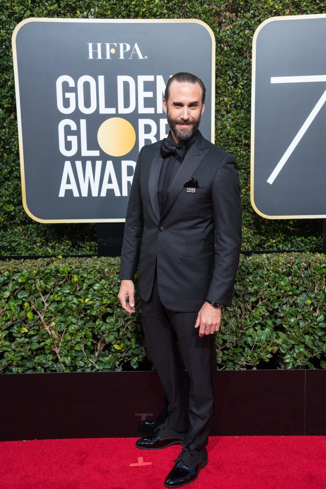 Joseph Fiennes attends the 75th Annual Golden Globes Awards 4chion lifestyle