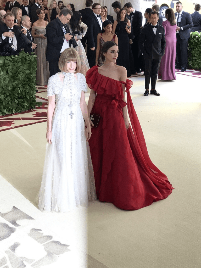 Anna Wintour Met Gala 4Chion Style