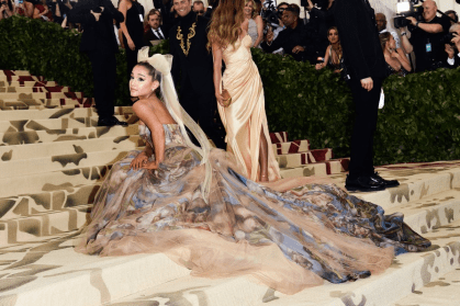 Ariana Grande Met Gala 4chion lifestyle Heavenly Bodies