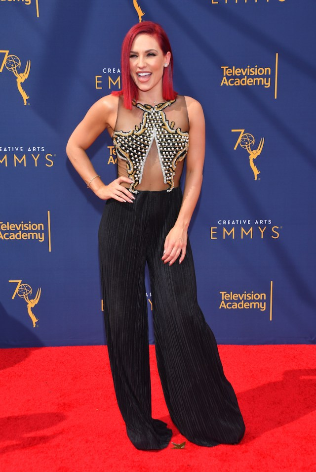 Sharna Burgess 4chion Lifestyle Emmys