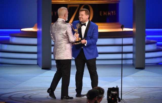 Ryan Murphy, James Corden Emmys 4Chion Lifestyle