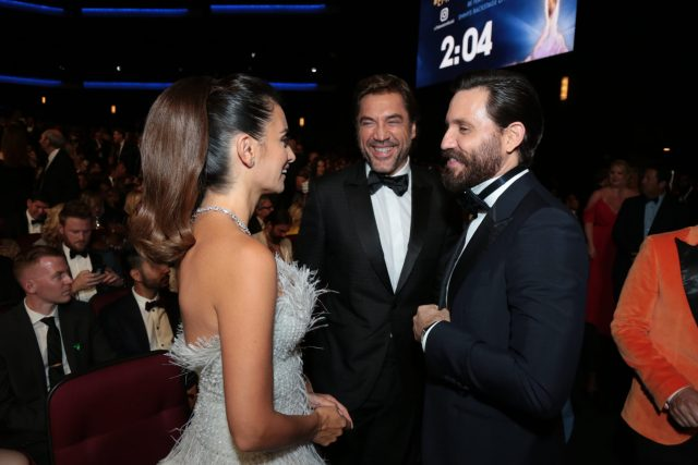 Penelope Cruz, Javier Bardem, and Edgar Ramirez Emmy 4chion lifestyle