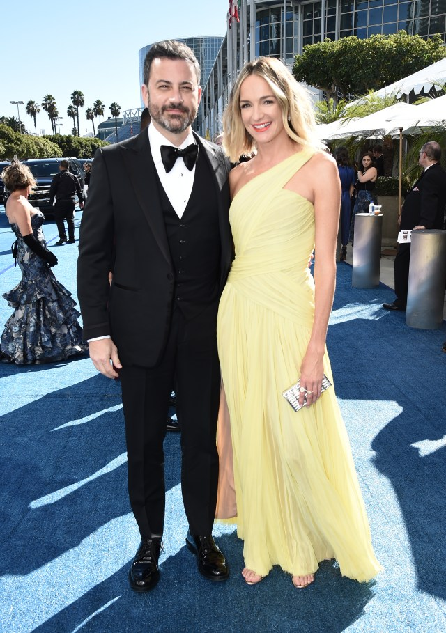Jimmy Kimmel, Molly McNearney Emmys 4Chion Lifestyle