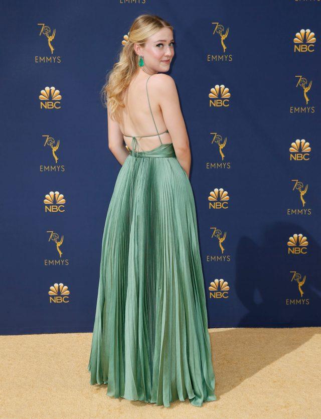 Dakota Fanning Emmys 4Chion Lifestyle