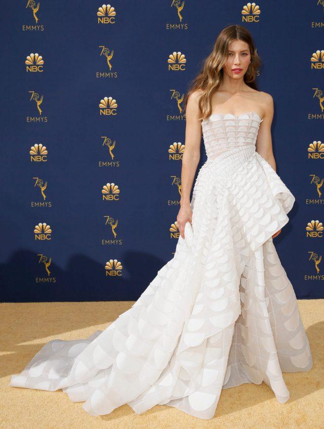 Jessica Biel Emmys 4Chion Lifestyle