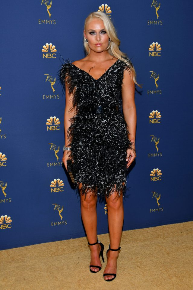 Lindsey Vonn Emmys 4Chion Lifestyle