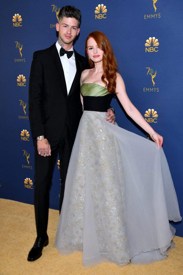 Travis Mills, Madelaine Petsch Emmys 4Chion Lifestyle