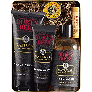 Burt's Bees Men's Gift Set amazon holiday ad 4chion lifestyle