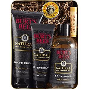 Burt's Bees Men's Gift Set amazon holiday ad 4chion lifestyle