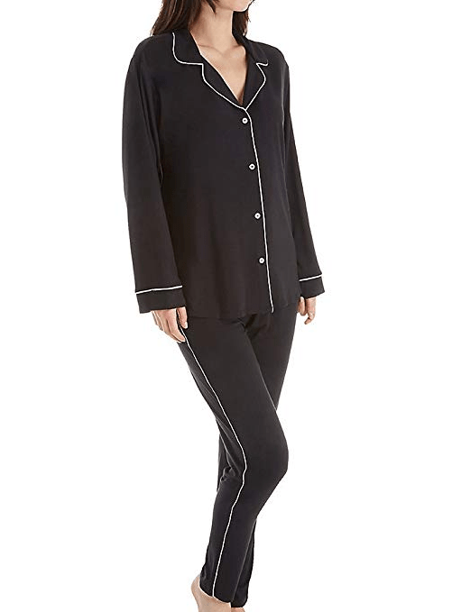Eberjey Gisele Tuxedo Slim Pajama amazon ad holiday 4chion lifestyle