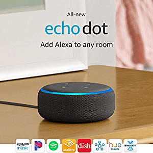 Echo Dot (3rd Gen) amazon ad holiday 4chion lifestyle