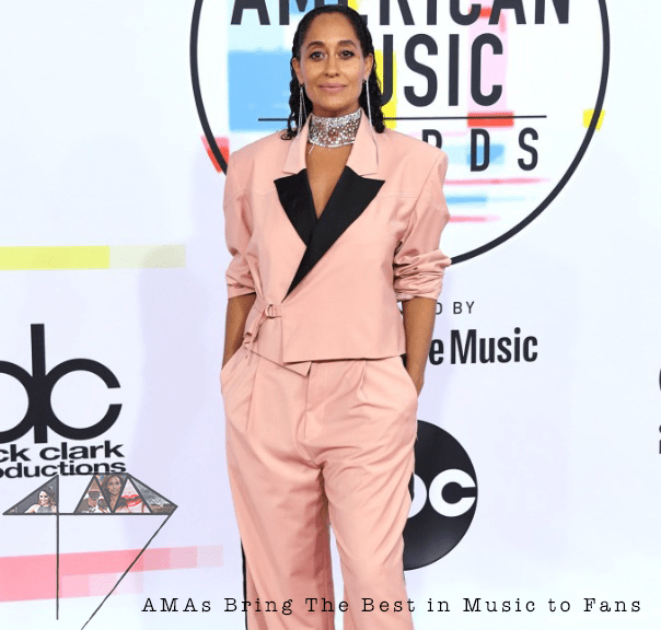 Tracee Ellis Ross AMAs red carpet 4chion Lifestyle