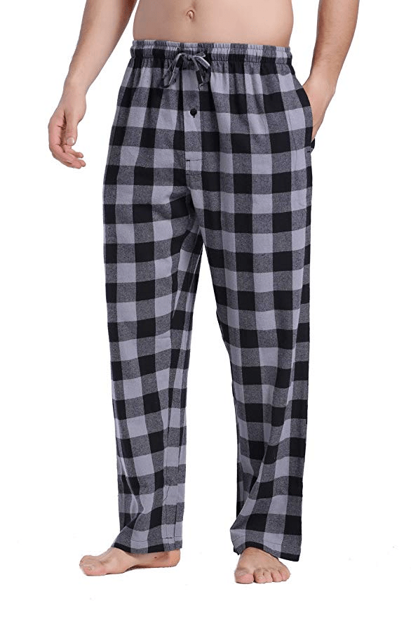 flannel Plaid Pajama Pants amazon ad 4chion lifestle