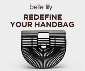 Belle Lily Purse 4chion lifestyle ad