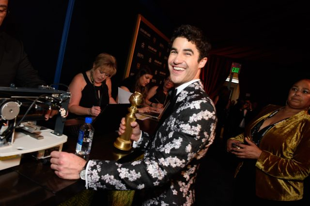Darren Criss Golden Globes 4chion Lifestyle