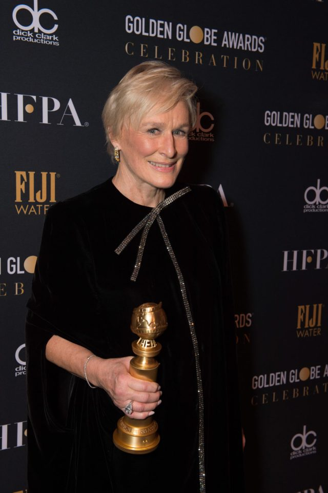 Glenn Close Golden Globes 4chion lifestyle