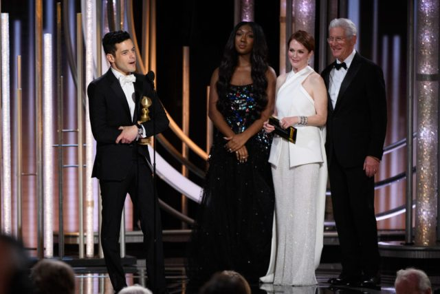 Rami Malek Golden Globes 4chion lifesetyle