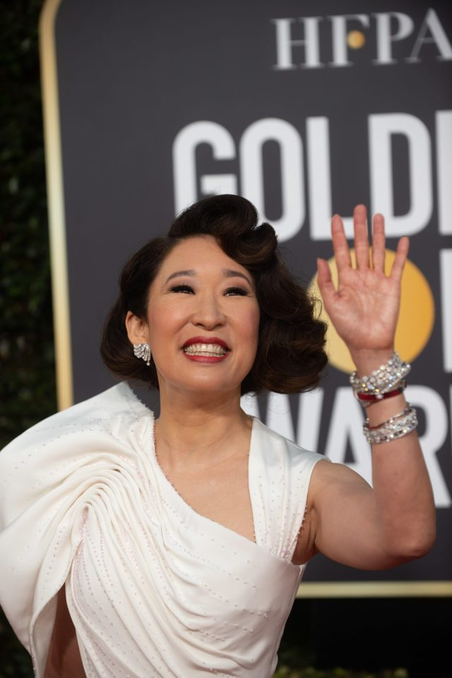 Host Sandra Oh Golden Globes 4Chion Lifestyle Party