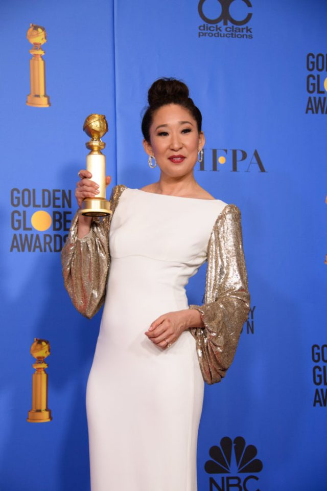 Sandra Oh Golden Globes 4chion lifestyle