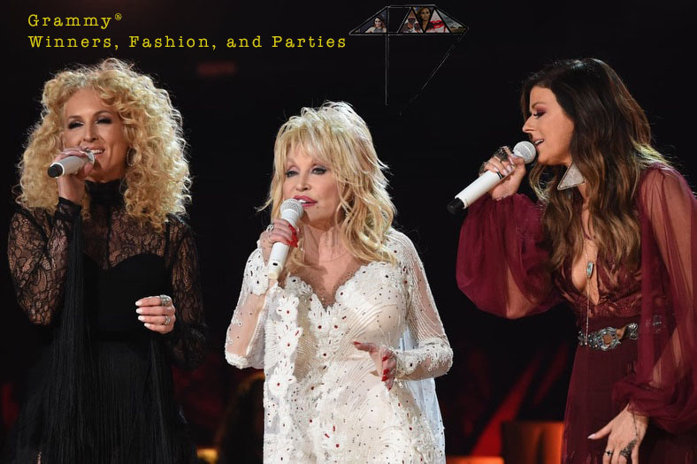 Dolly Parton Karen Fairchild Grammys®Fashion 4chion lifestyle