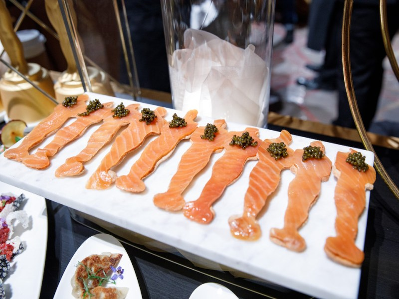 Smoked Salmon Oscar Recipe Party 4Chion Lifestyle