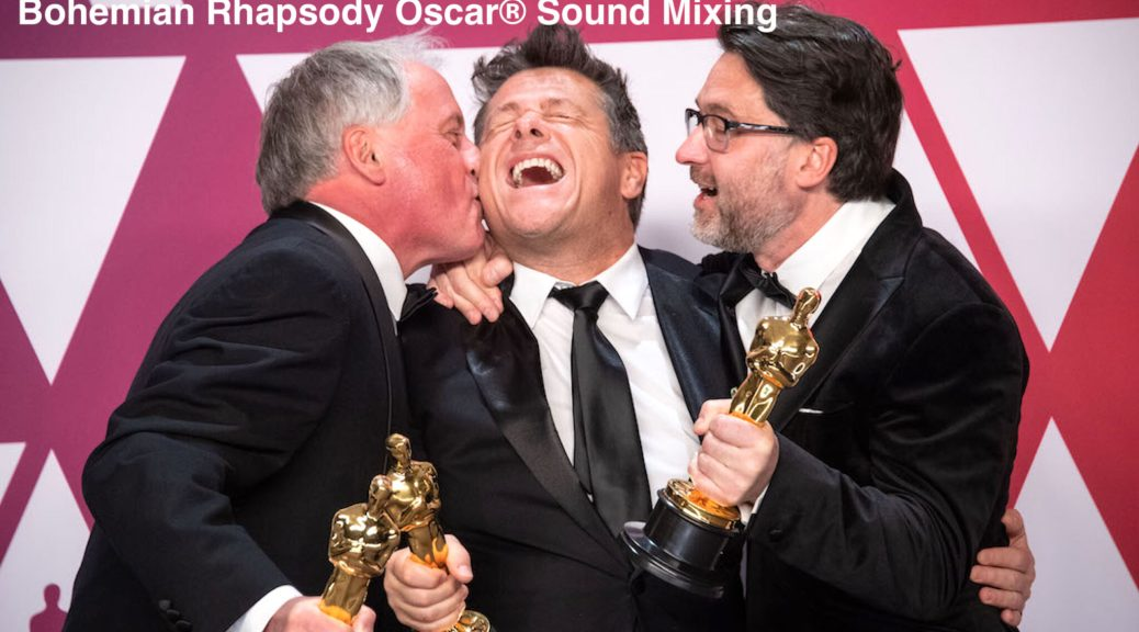 Tim Cavagin, Paul Massey, and John Casali 91st Oscars®, Academy Awards 4chion lifestyle