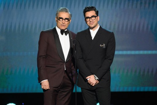Eugene Levy and Dan Levy 2020 SAG® Awards