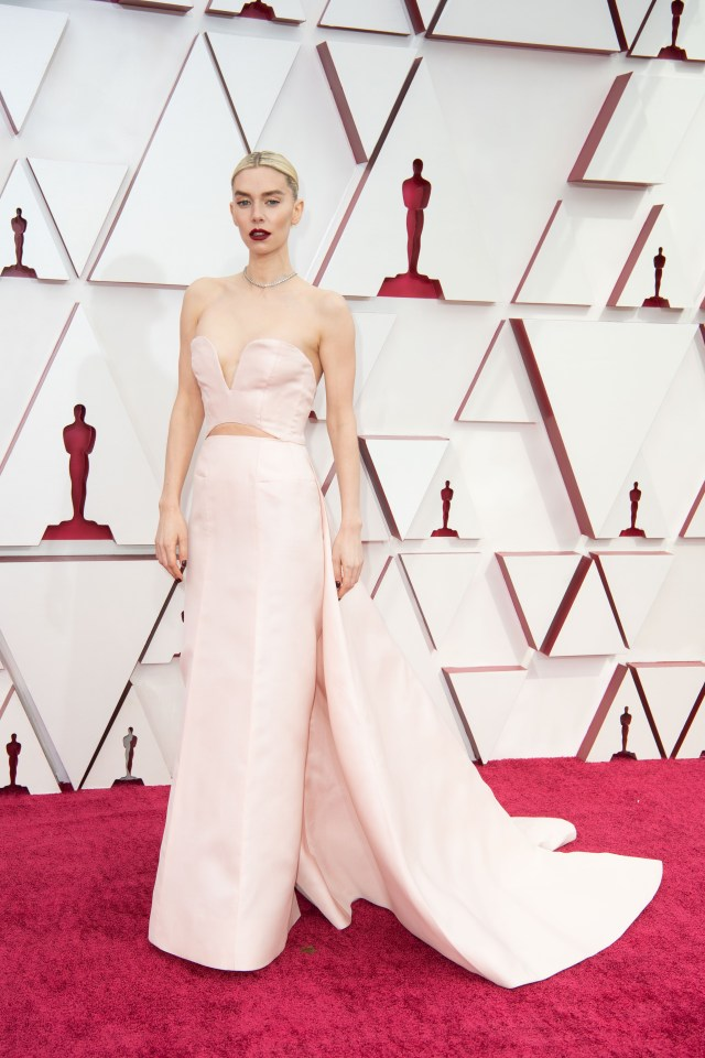 Vanessa Kirby at The Academy Awards red carpet 4Chion Lifestyle 93rd Oscars