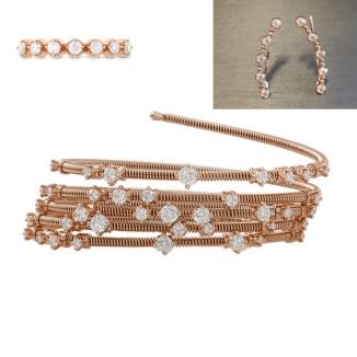 Samira Wiley Bracelet Mattia Cielo hearts on fire styling 4chion lifestyle