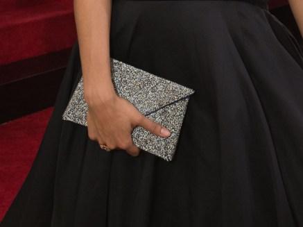 Zazie Beetz Golden Globes Clutch