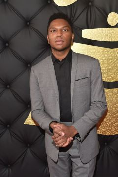 Gallant red carpet Grammys