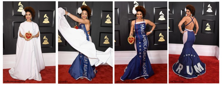 Joy Villa Trump Dress Andre Soriano 4Chion Lifestyle