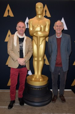 """Directors of the Oscar® nominated foreign film """"Tanna"""", Bentley Dean and Martin Butler prior to the Academy of Motion Picture Arts and Sciences' Oscar Week: Foreign Language Films event on Saturday, February 25, 2017 at the Samuel Goldwyn Theater in Beverly Hills. The Oscars® will be presented on Sunday, February 26, 2017, at the Dolby Theatre® in Hollywood, CA and televised live by the ABC Television Network."""