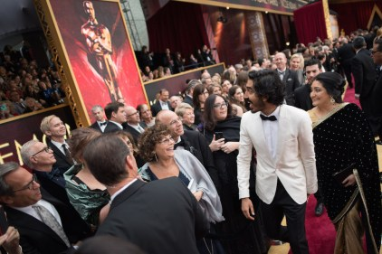 Oscar®-nominee Dev Patel arrives at The 89th Oscars® at the Dolby® Theatre in Hollywood, CA on Sunday, February 26, 2017.