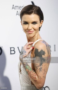 Ruby Rose Annual Elton John AIDS Foundation's Academy Awards Party Borgioni Jewels
