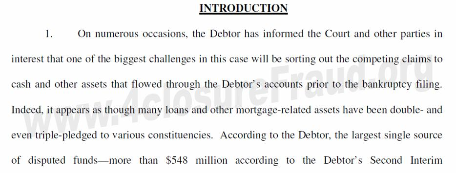 Freddie Mac / Bank Of America / Taylor Bean Whitaker – Important