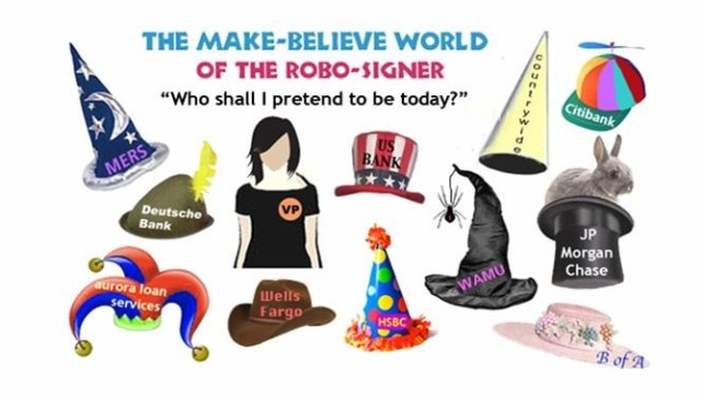 Hats of a Robo-signer