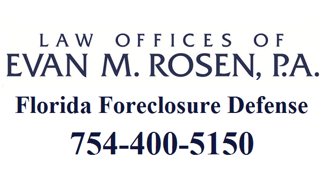 Evan M. Rosen Foreclosure Defense