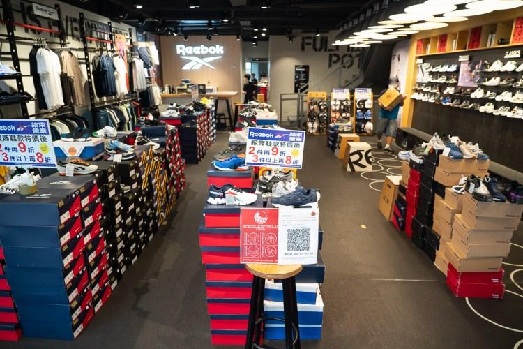 【Reebok專賣店結束營業特賣】結束營業!即日起~9/30,鞋款、服飾最低38折!REEBOK運動鞋特賣!