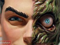Sculpture of Two-Face by Tim Bruckner